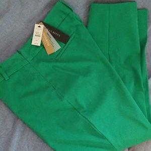 Bright green talbots trouser- brand new